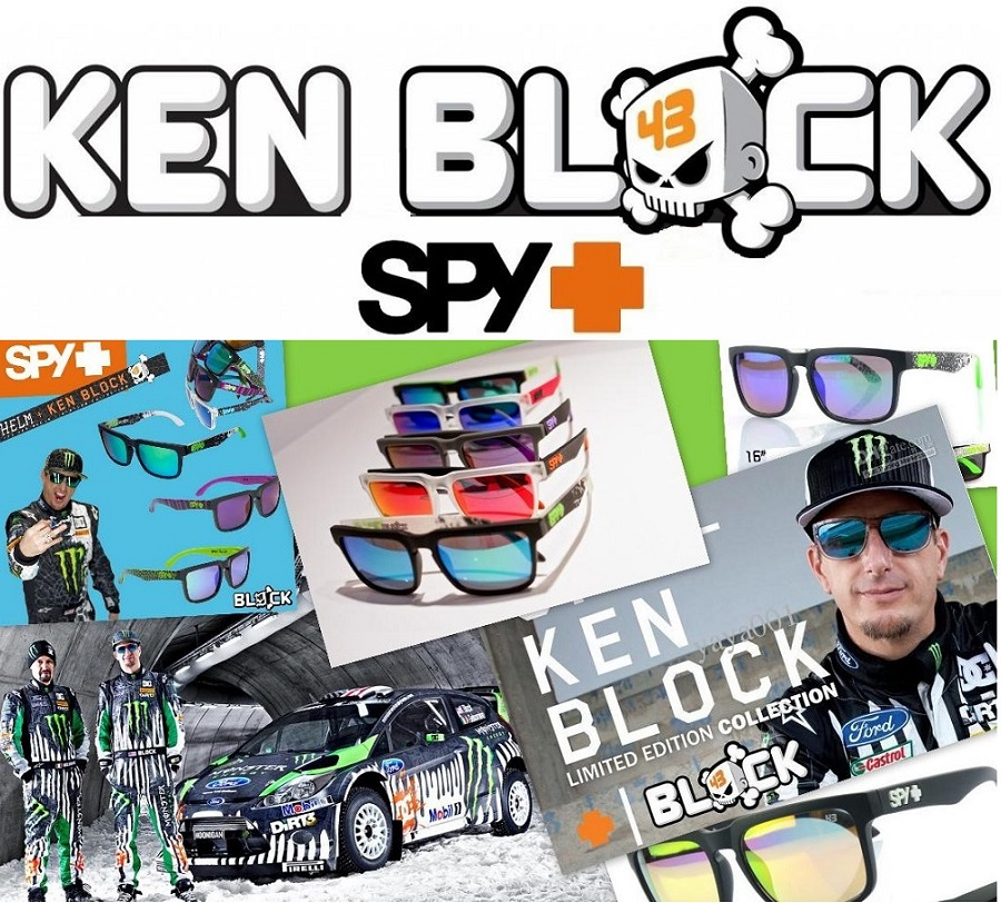 Rider Ken Block a spoločnosť SPY spojili svoje sily a teraz nám spoločne  predstavujú ich finálny produkt f095a1761f4